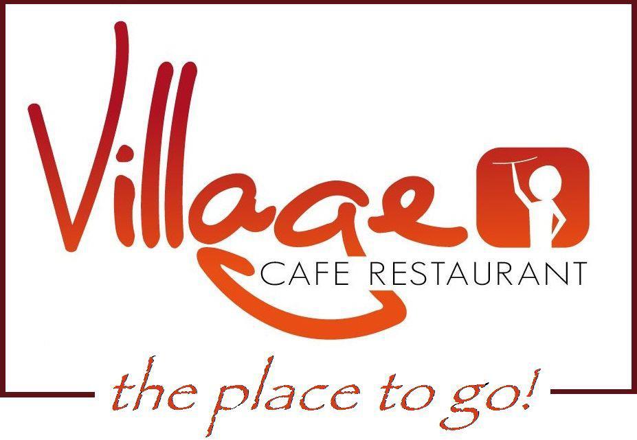 Viallage Cafe sign