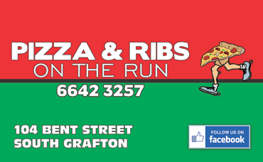 Pizza and Ribs on the Run