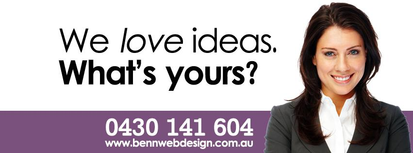 We love ideas. What's yours?