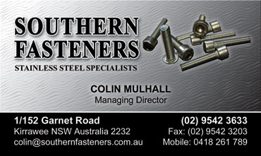 Southern Fasteners Colin