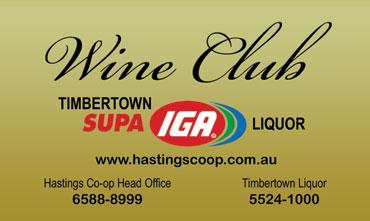 Timbertown Supa IGA Wine Club